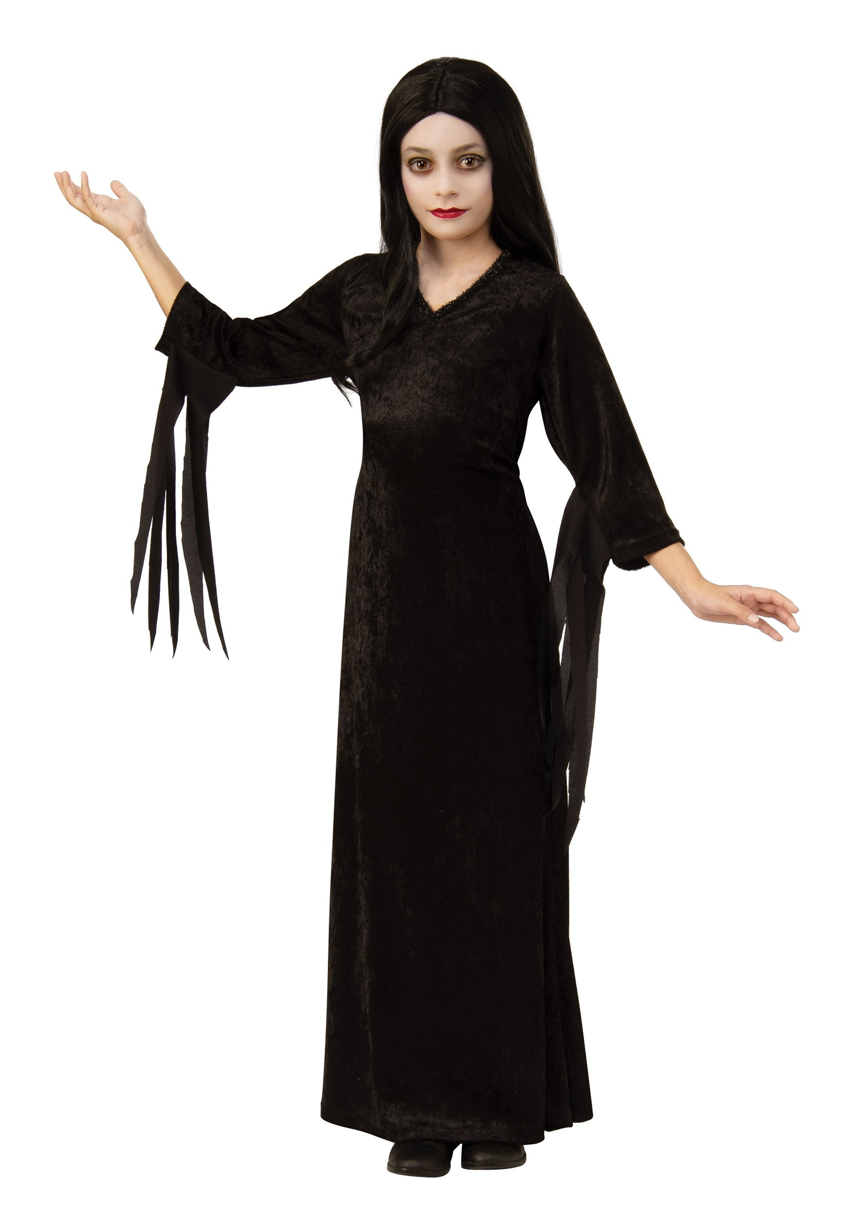 The Addams Family Morticia Costume for Kids