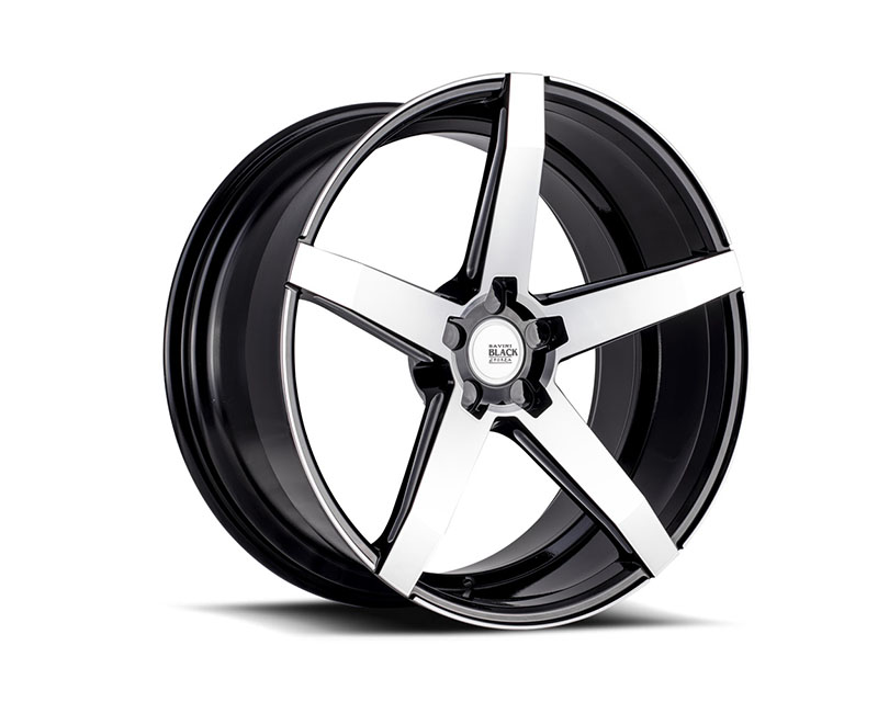 Savini BM11-22105545M4579 di Forza Machined Black with Black Lip BM11 Wheel 22x10.5 5x114.3 45mm
