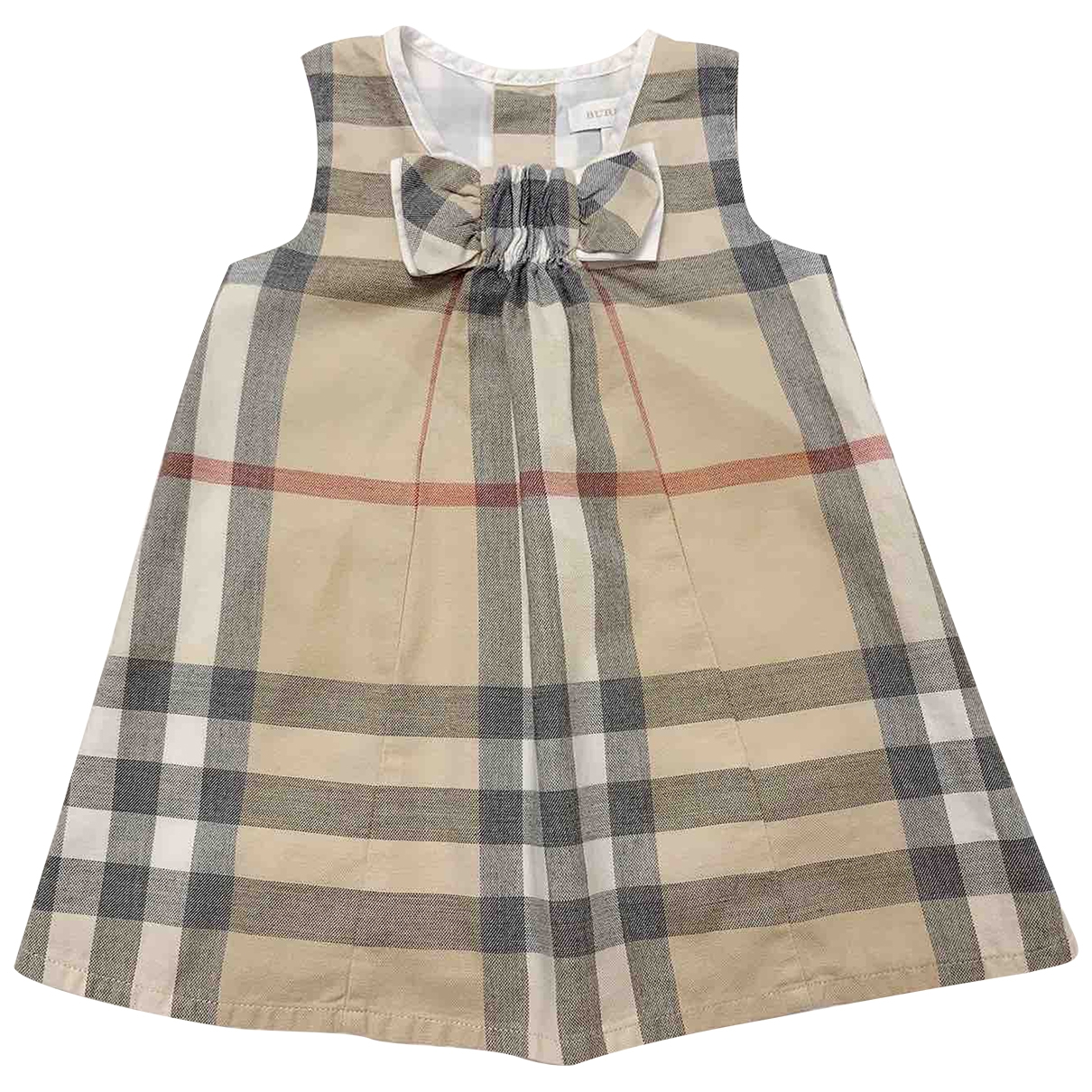 Burberry \N Kleid in  Bunt Baumwolle - Elasthan