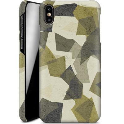 Apple iPhone XS Max Smartphone Huelle - Geometric Camo Green von caseable Designs