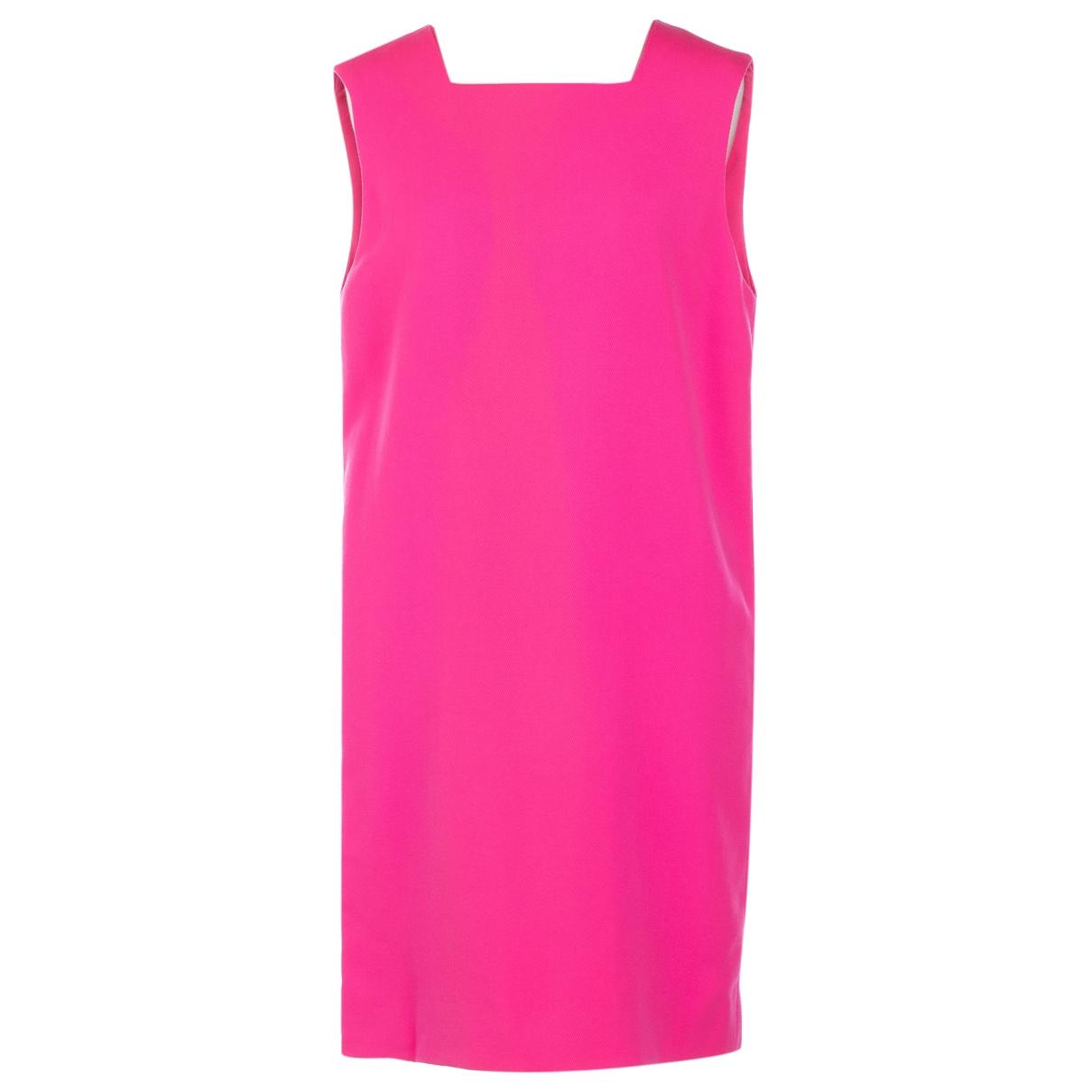 Gianni Versace - Robe   pour femme en laine - rose