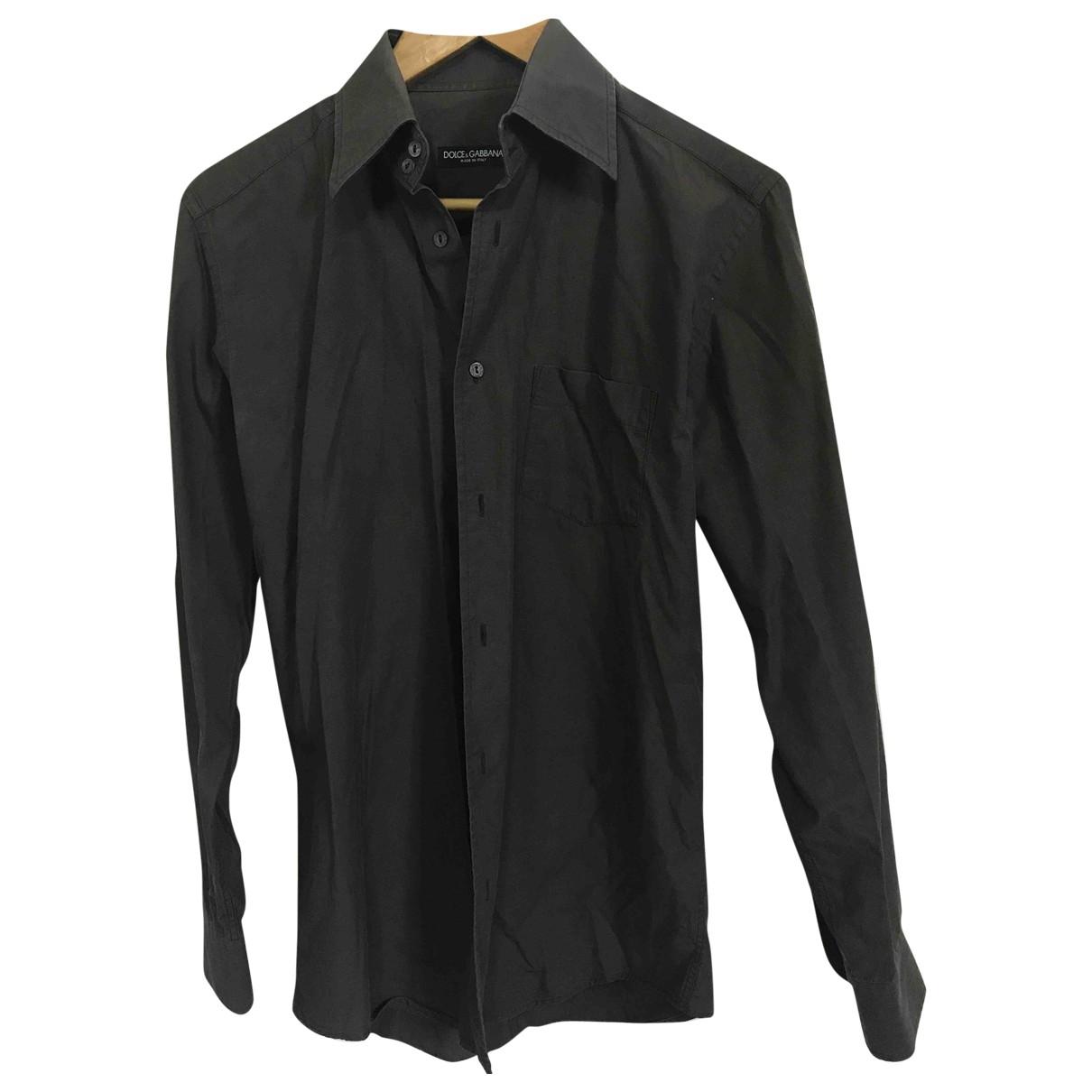 Dolce & Gabbana - Chemises   pour homme en coton - marron