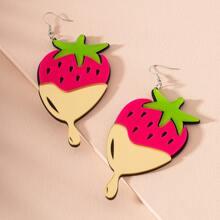 Ohrringe mit Obst Anhaenger