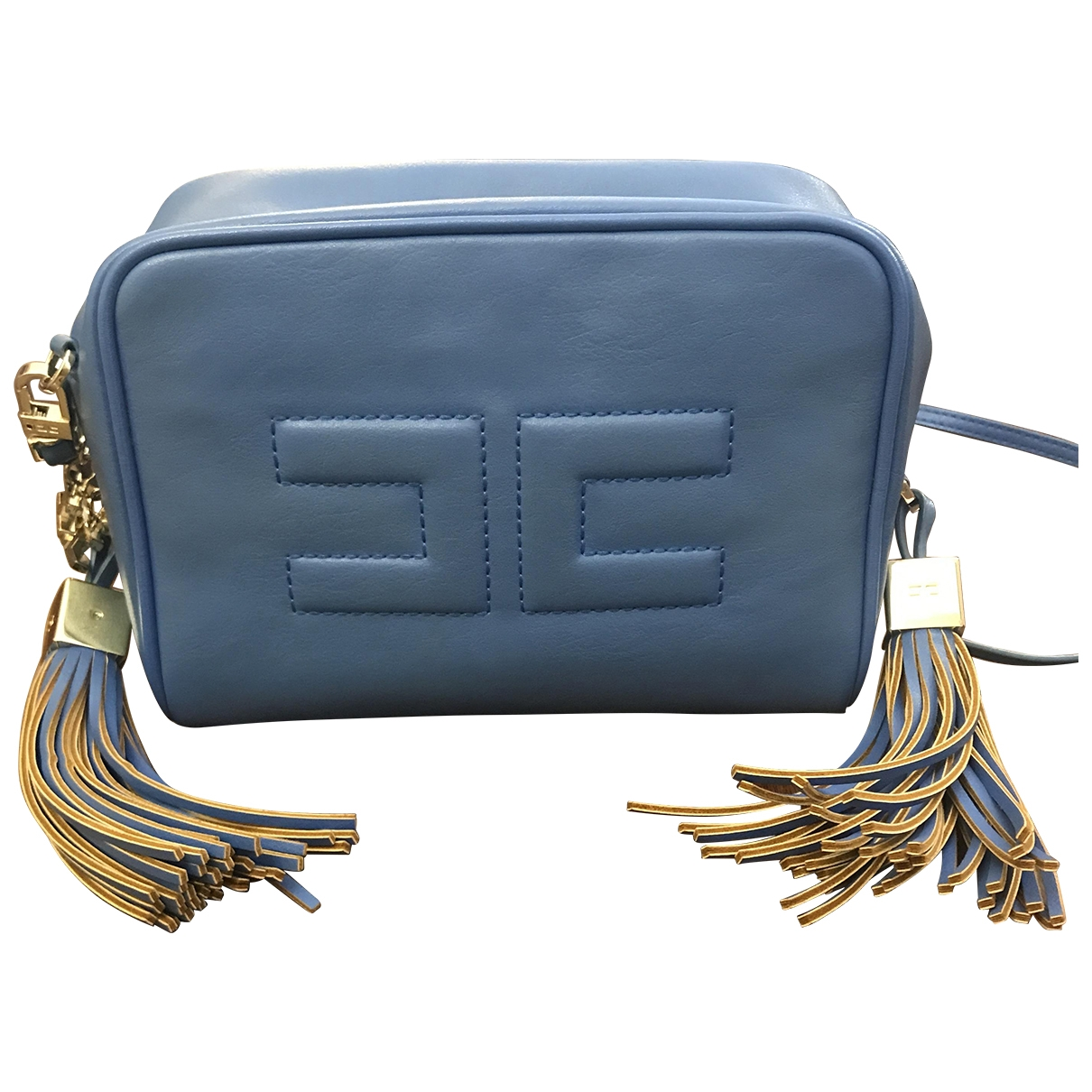 Elisabetta Franchi \N Turquoise handbag for Women \N