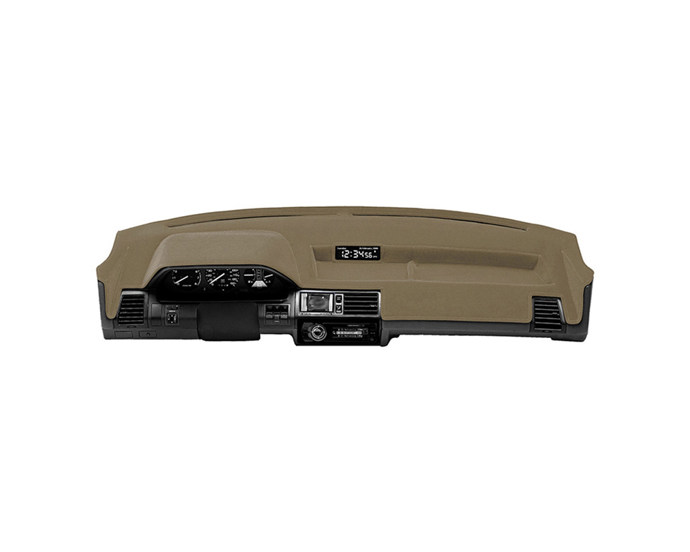 Cover King Custom Tailored PolycarpetDashboard Cover Tan Chevrolet Suburban 1500 | 2500 2000-2005