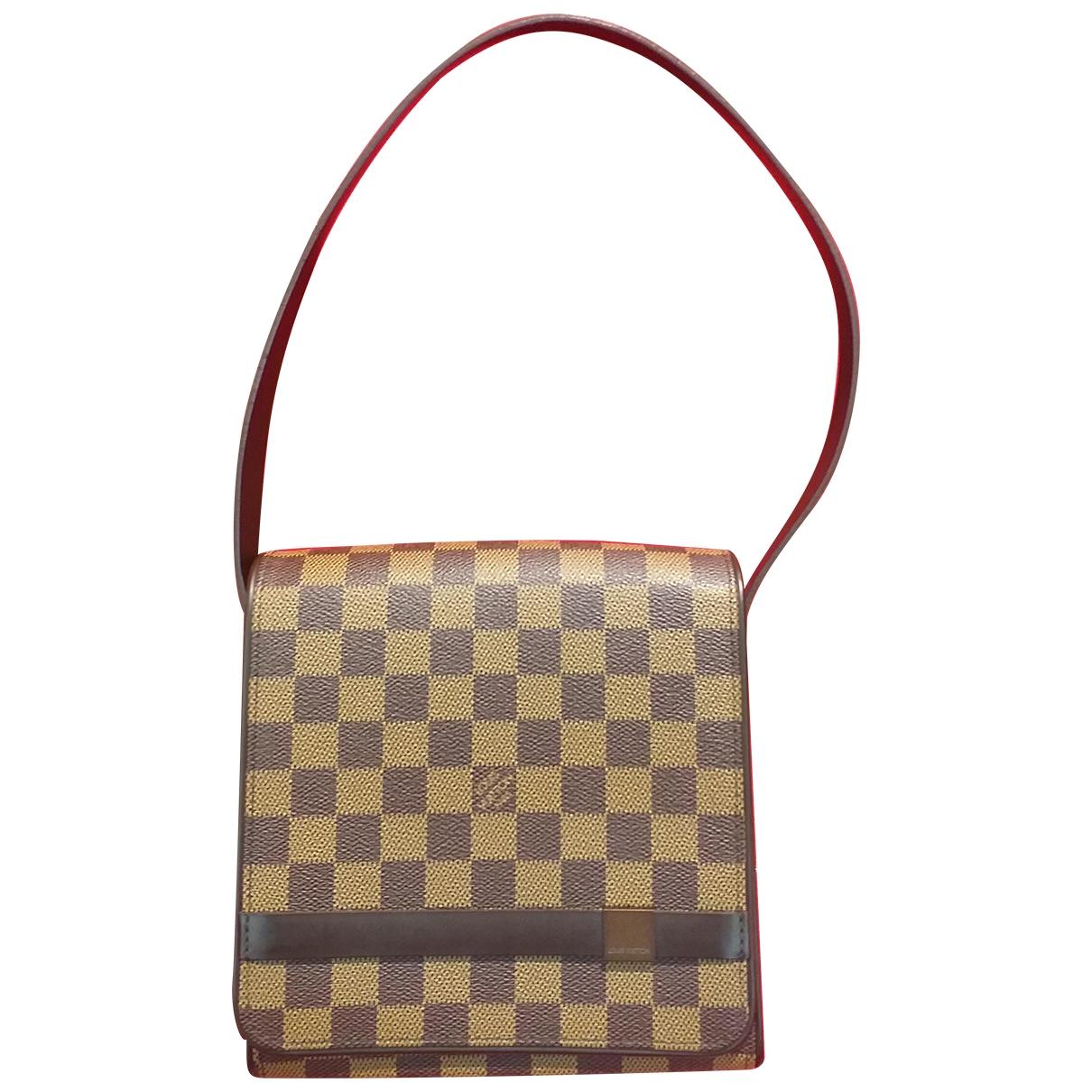 Louis Vuitton Tribeca Brown Cloth handbag for Women \N