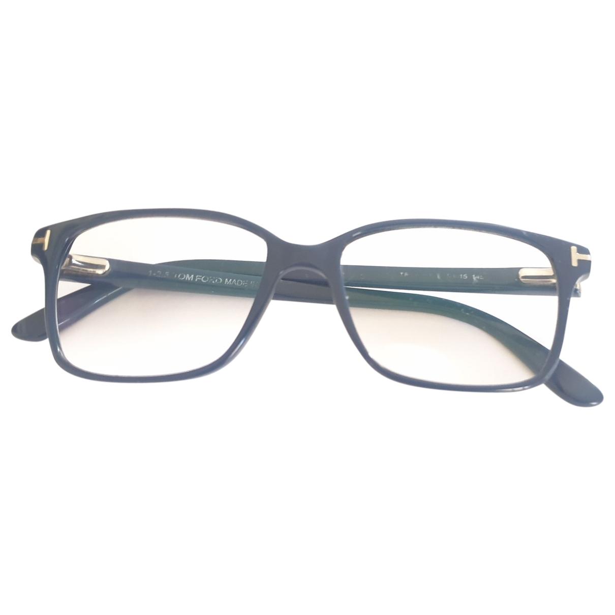 Tom Ford \N Sonnenbrillen in  Blau Kunststoff
