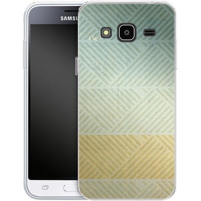 Samsung Galaxy J3 (2016) Silikon Handyhuelle - Triangles Artifact von Brent Williams
