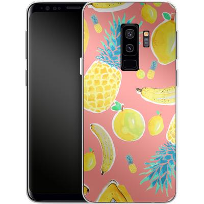Samsung Galaxy S9 Plus Silikon Handyhuelle - Fruit Love von Mukta Lata Barua