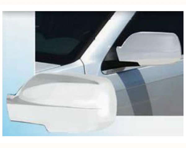 Quality Automotive Accessories Chrome Plated ABS Plastic 2-Piece Mirror Cover Set Jeep Grand Cherokee 2006