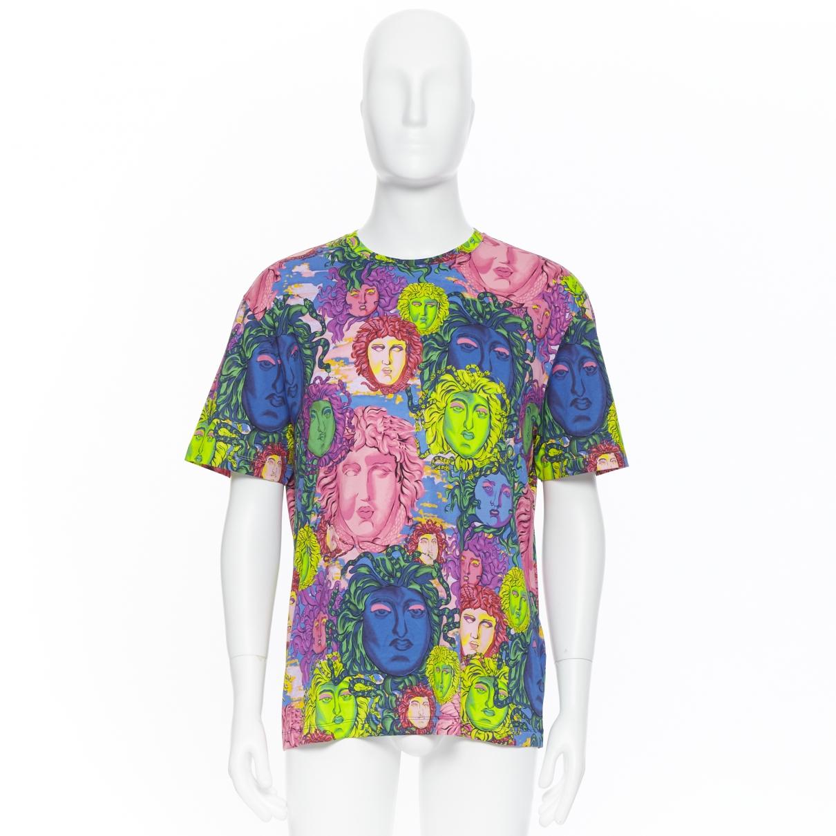 Versace \N Multicolour Cotton T-shirts for Men XXXL International
