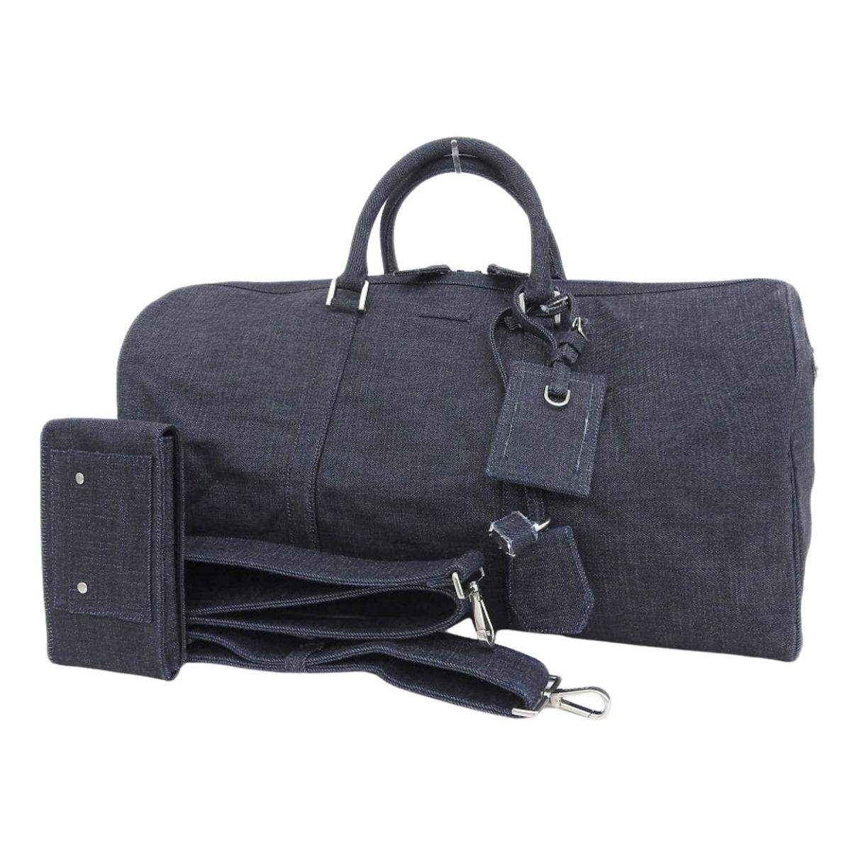 Michael Kors \N Navy Denim - Jeans Travel bag for Women \N