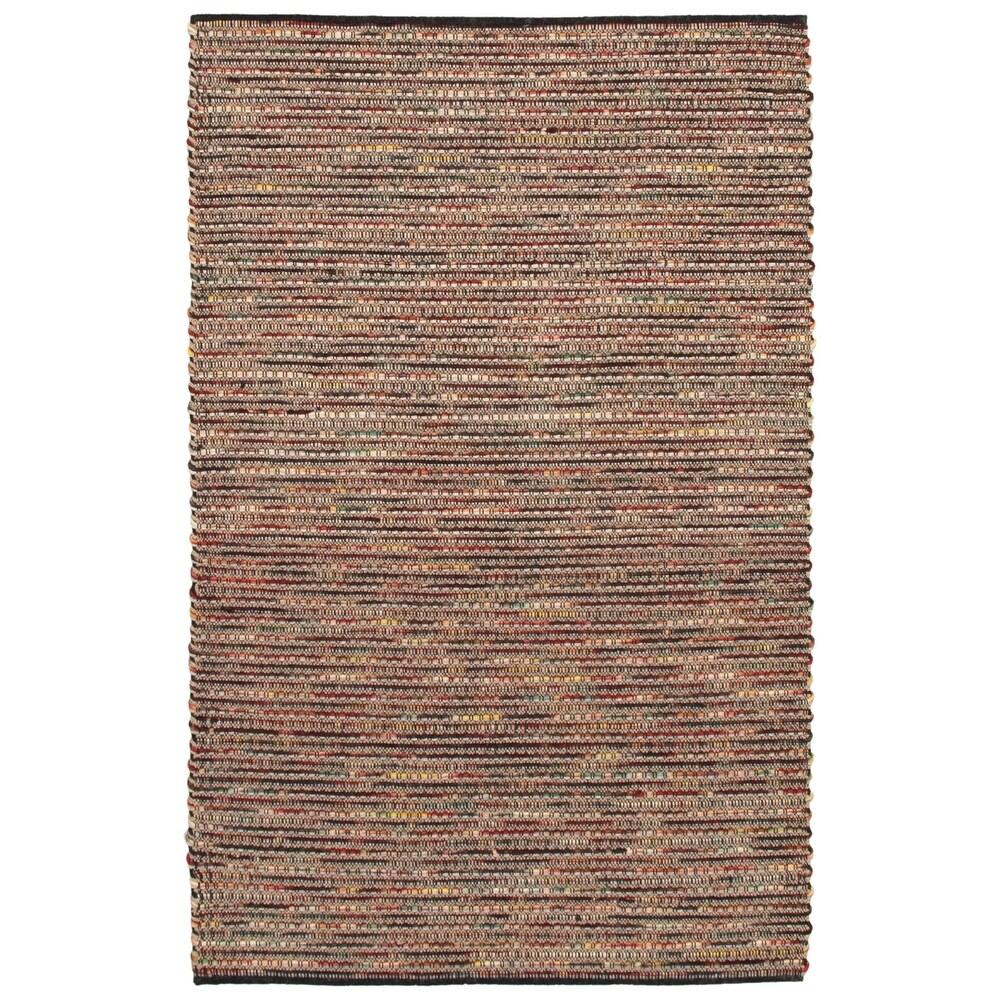 ECARPETGALLERY  Braid weave Sienna Burgundy Wool Rug - 5'1 x 7'10 (Dark Burgundy - 5'1 x 7'10)