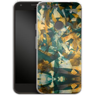 Google Pixel Silikon Handyhuelle - Raw Texture von Danny Ivan