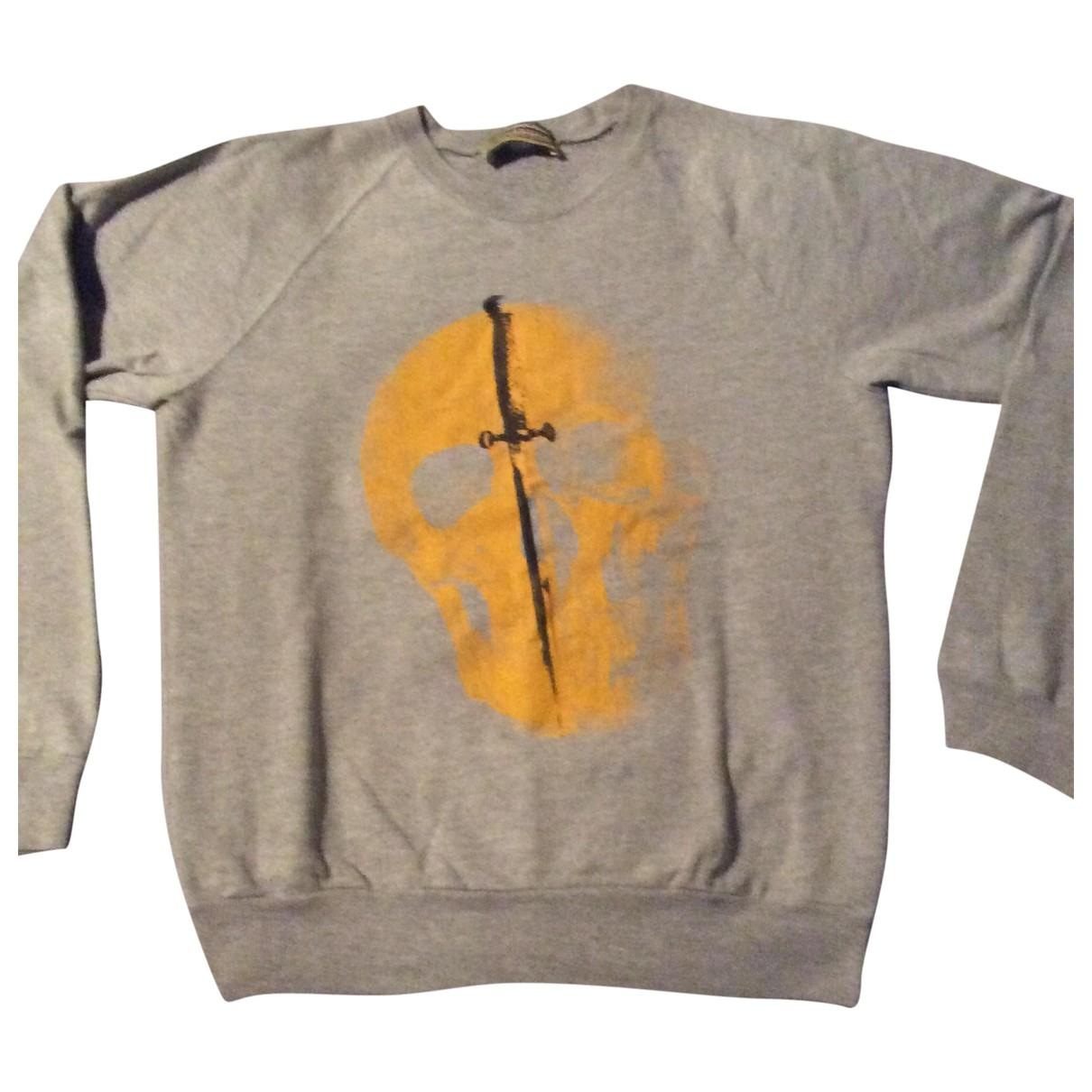 Libertine \N Grey Cotton Knitwear & Sweatshirts for Men S International