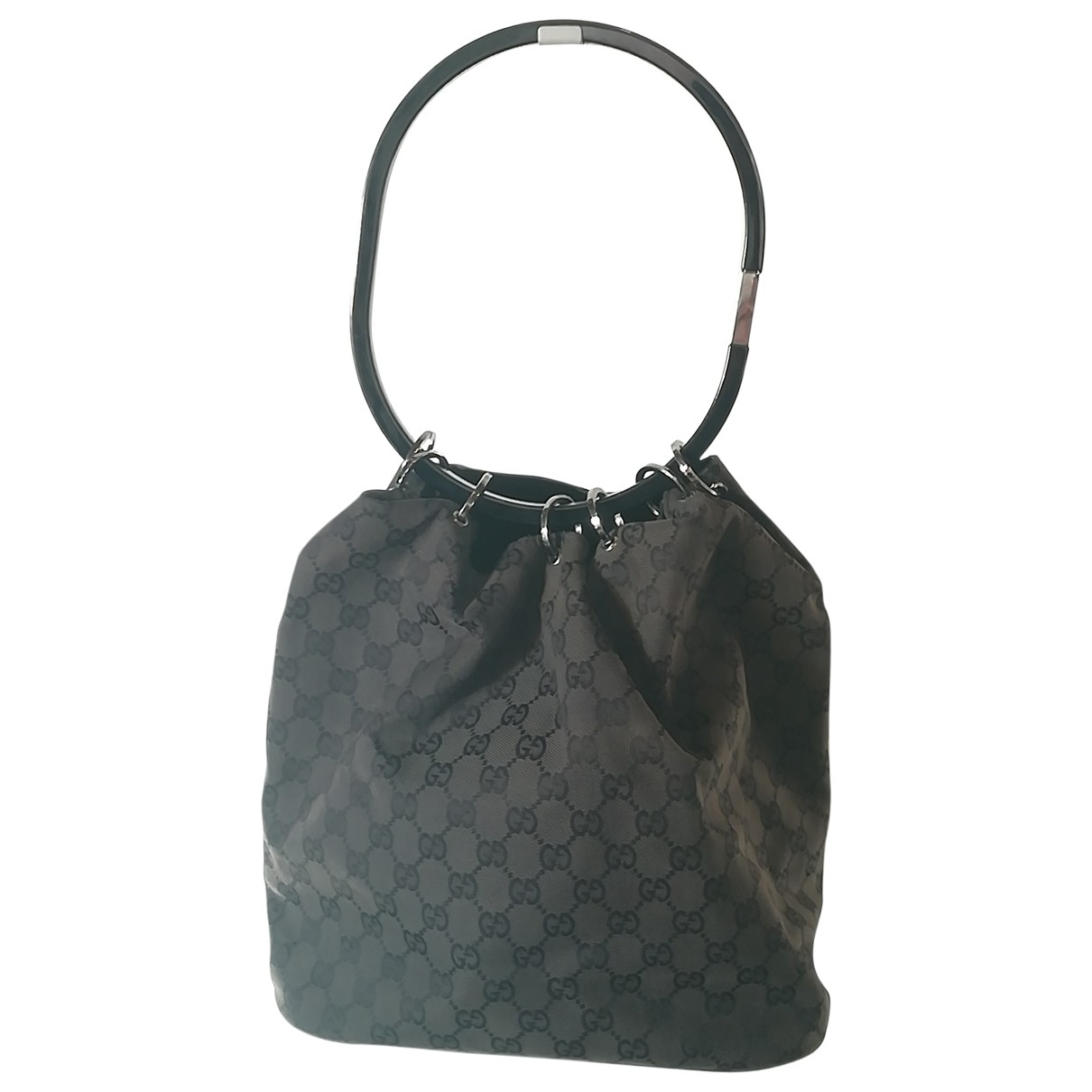 Gucci \N Black Cloth handbag for Women \N