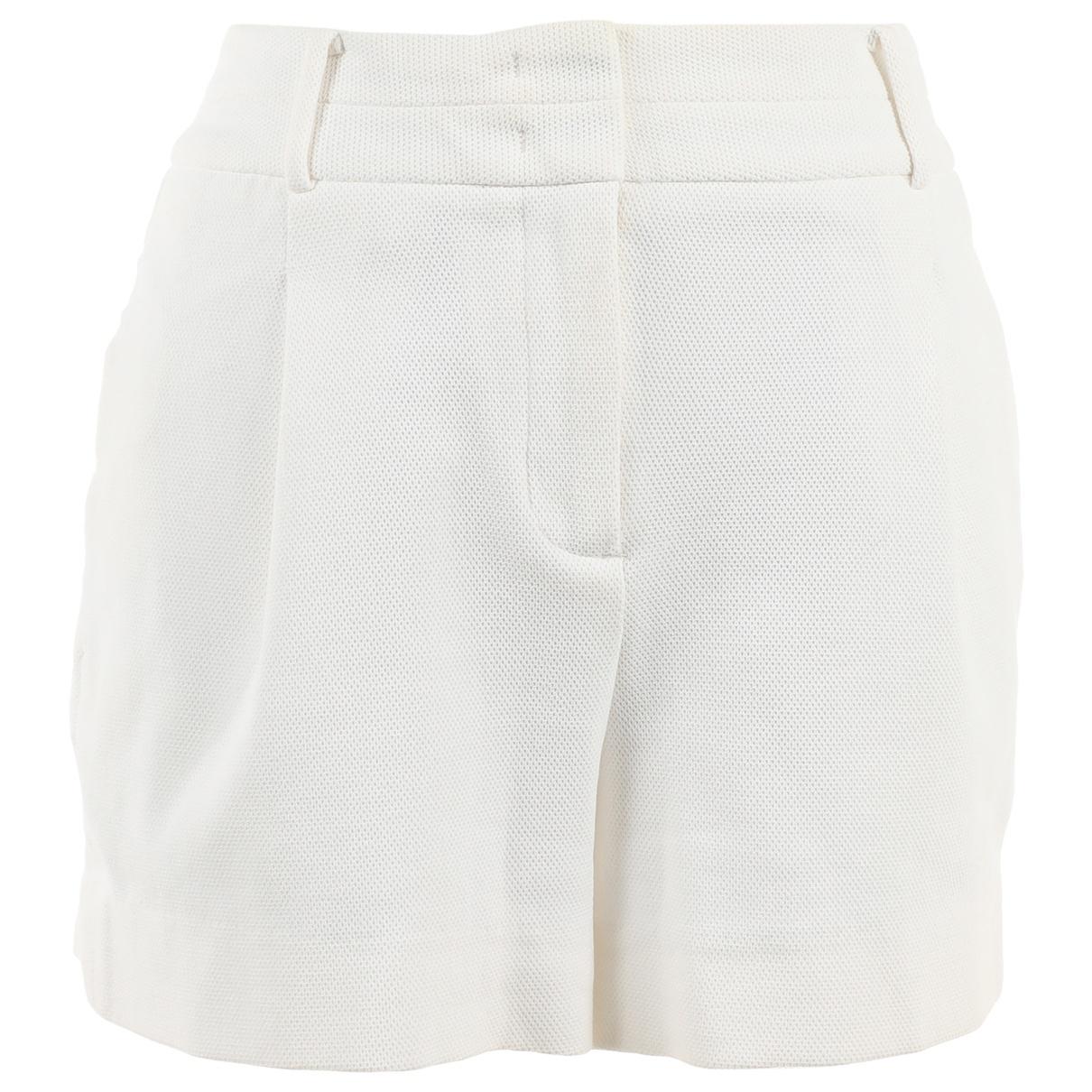 Calvin Klein \N Shorts in  Weiss Baumwolle