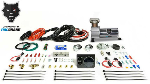Pacbrake HP10231 Premium In Cab Control Kit For Simultaneous Spring Activation W/HP325 Compressor Air Spring Dash Switches Pre Built Harnesses Fitting