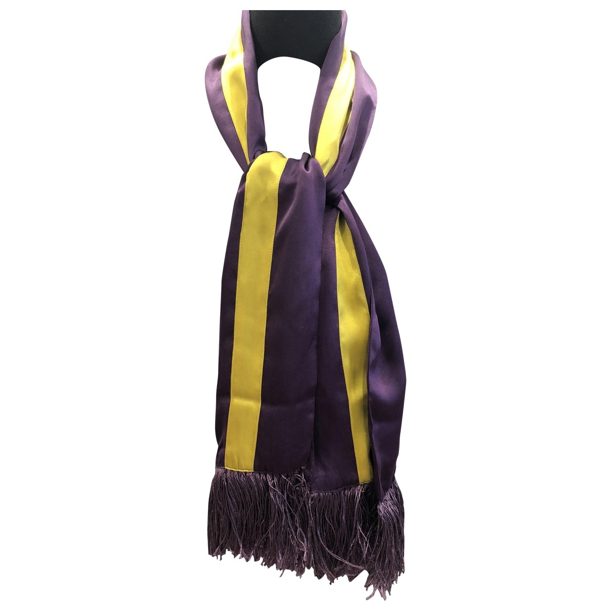 Baum Und Pferdgarten \N Purple scarf for Women \N