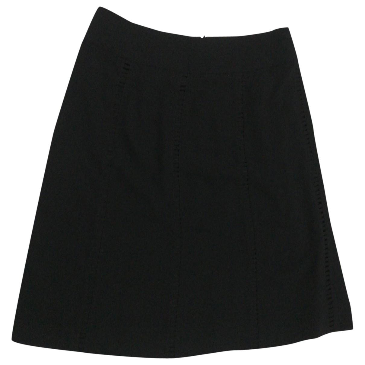 Hobbs - Jupe   pour femme en coton - noir
