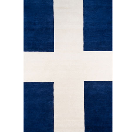 Novogratz By Momeni Chevalier Hand Tufted Rectangular Indoor Rugs, One Size , Blue