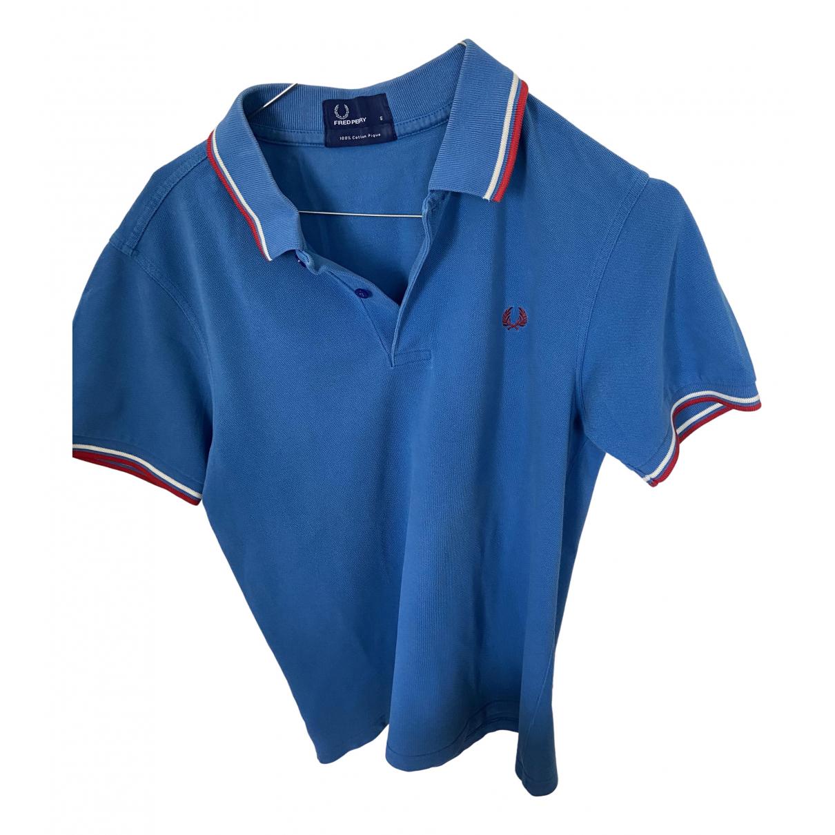 Fred Perry \N Poloshirts in  Blau Baumwolle