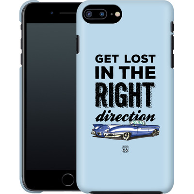 Apple iPhone 8 Plus Smartphone Huelle - ROUTE 66 Get Lost in the Right Direction von ROUTE 66