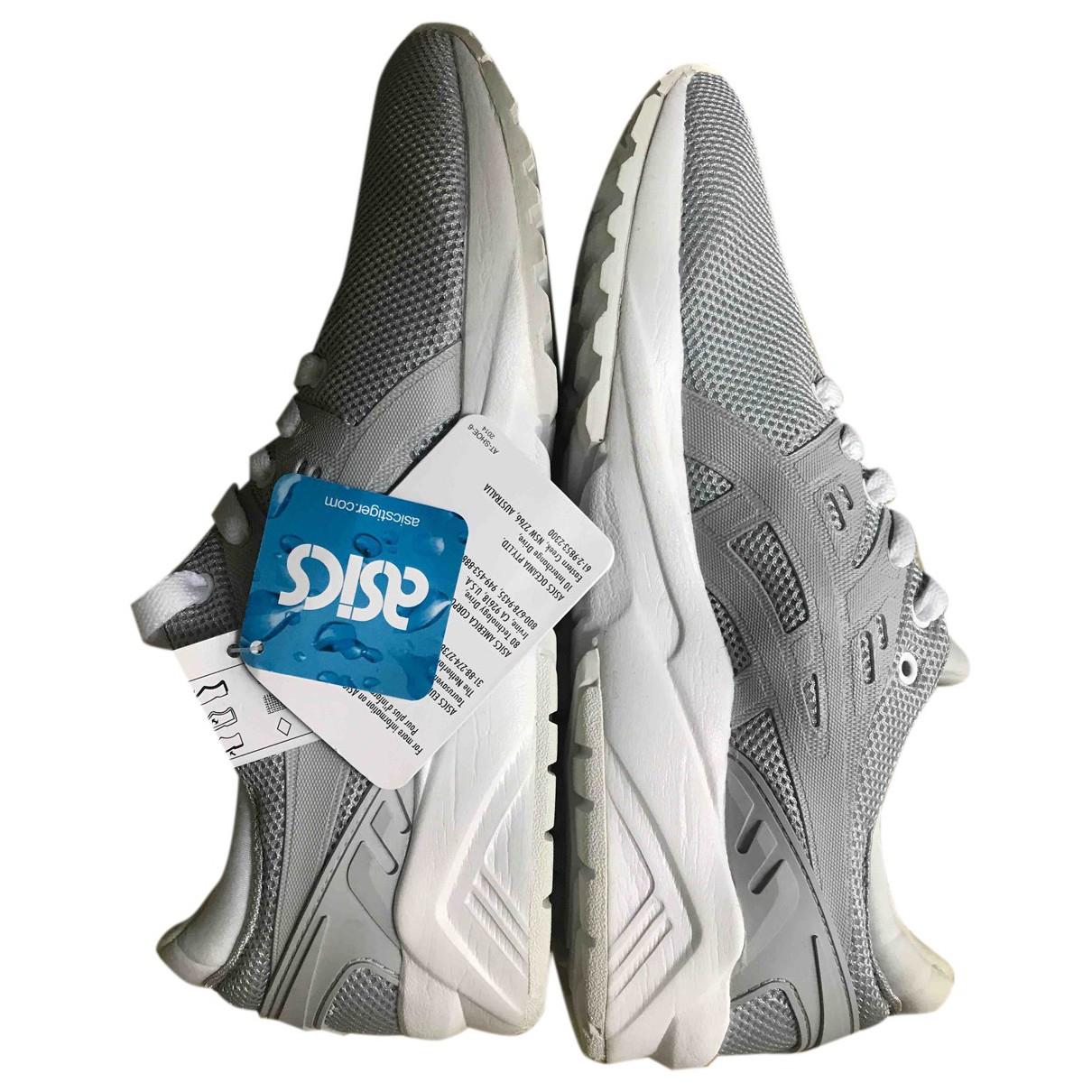 Asics \N Sneakers in  Grau Polyester
