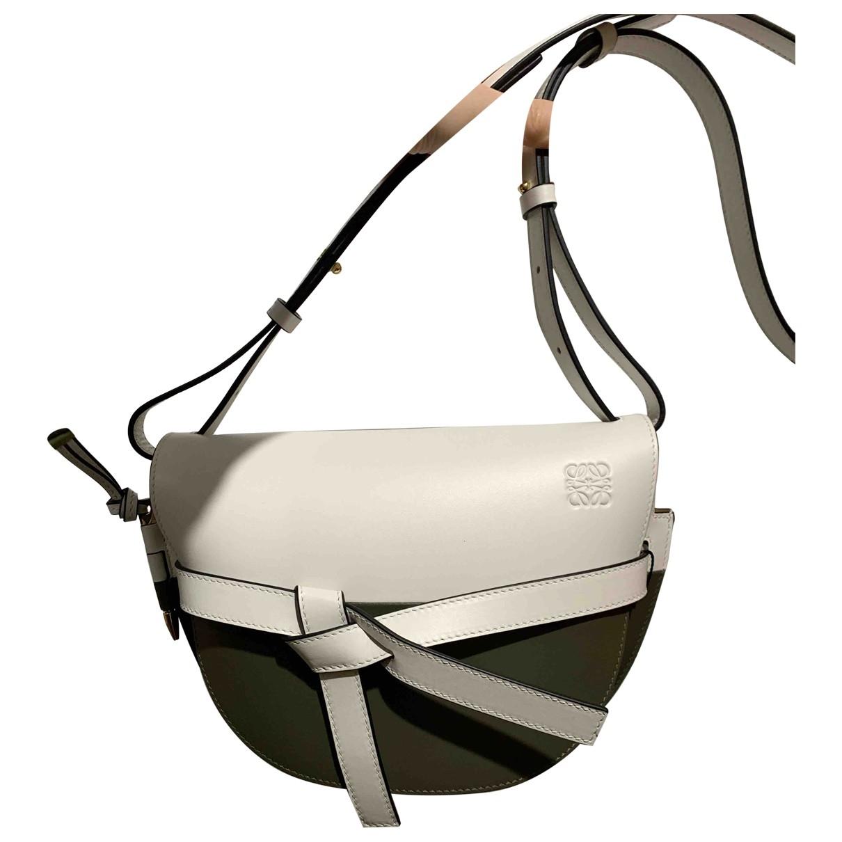 Loewe Gate Multicolour Leather handbag for Women \N
