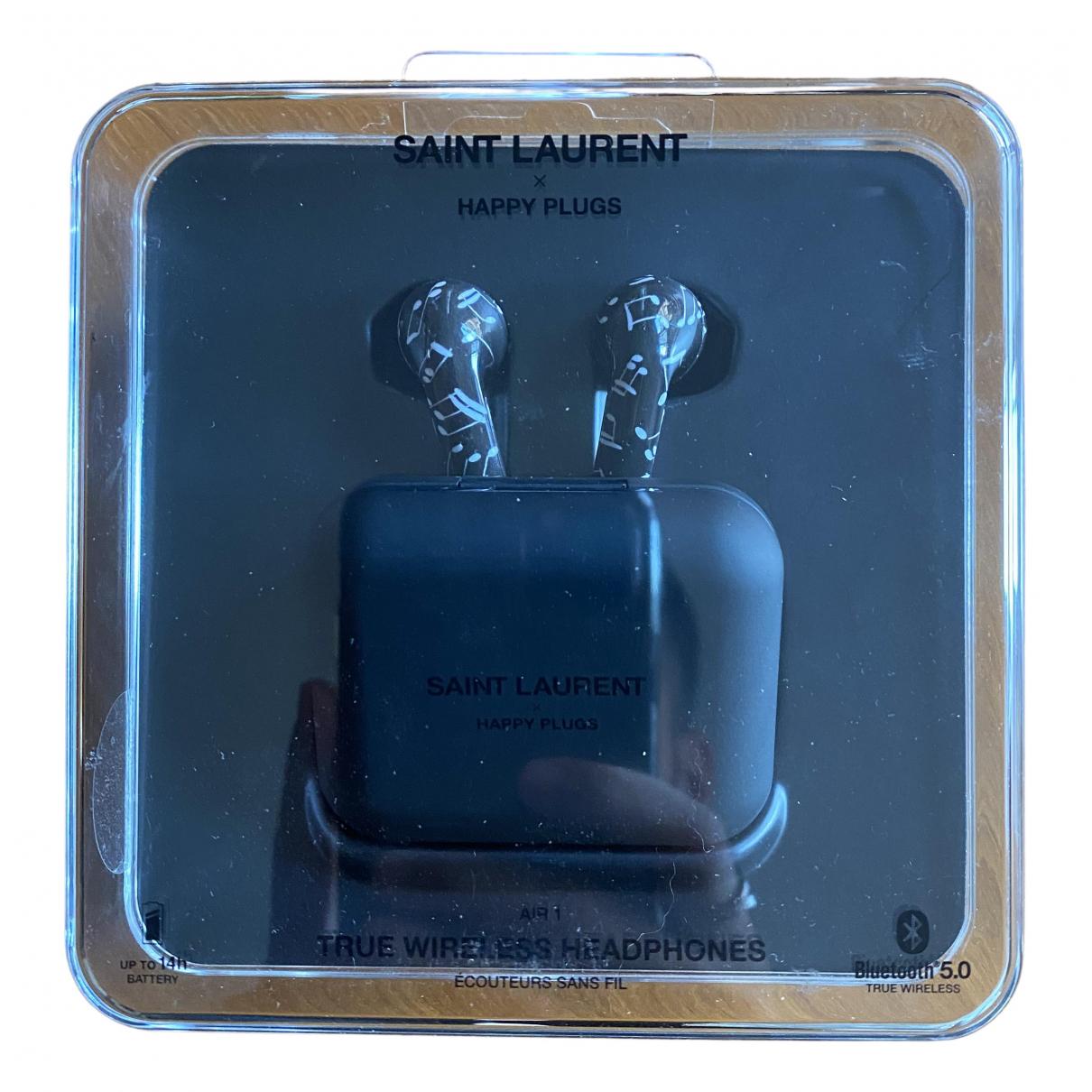 Saint Laurent \N Accessoires in  Schwarz Kunststoff