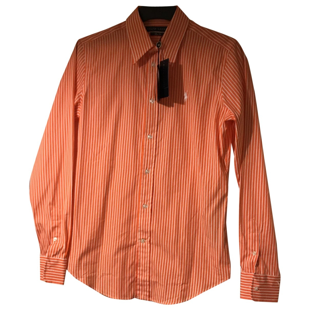 Ralph Lauren \N Top in  Orange Baumwolle
