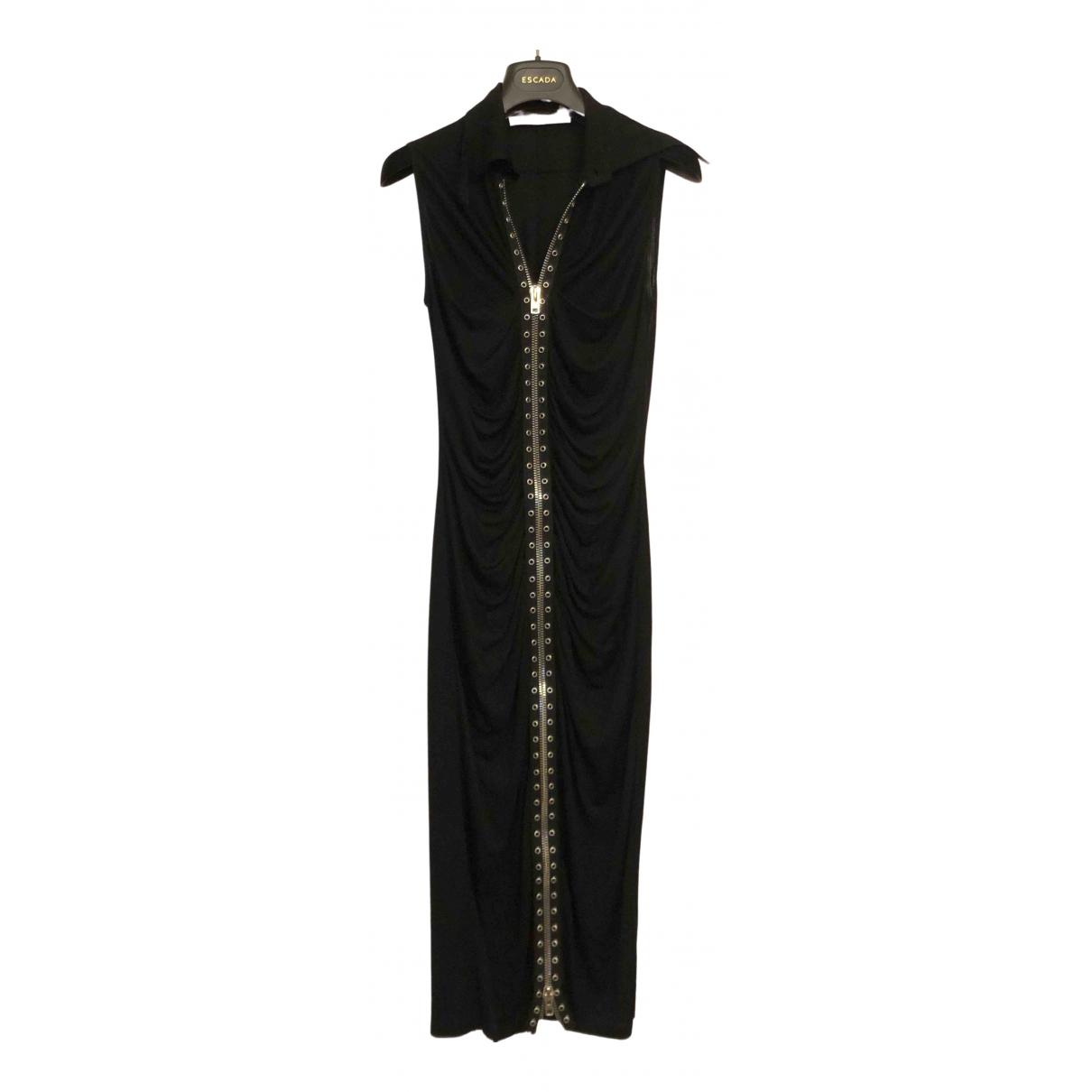 Givenchy \N Kleid in  Schwarz Viskose