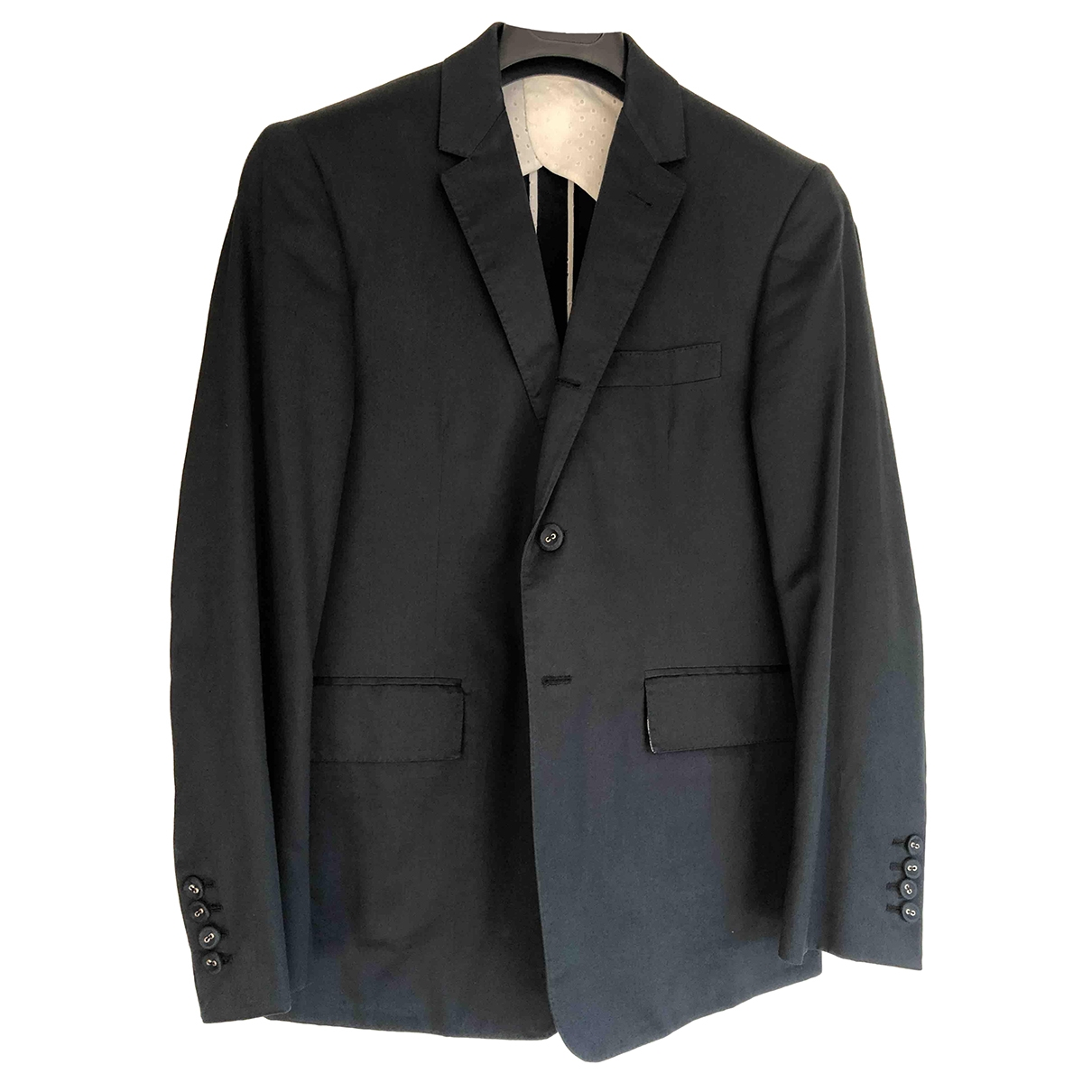 Thom Browne \N Black Cotton jacket  for Men 1 0 - 6
