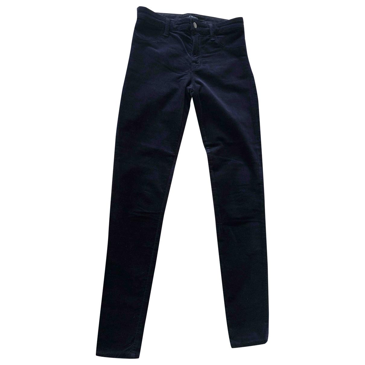 J Brand \N Purple Cotton - elasthane Jeans for Women 27 US