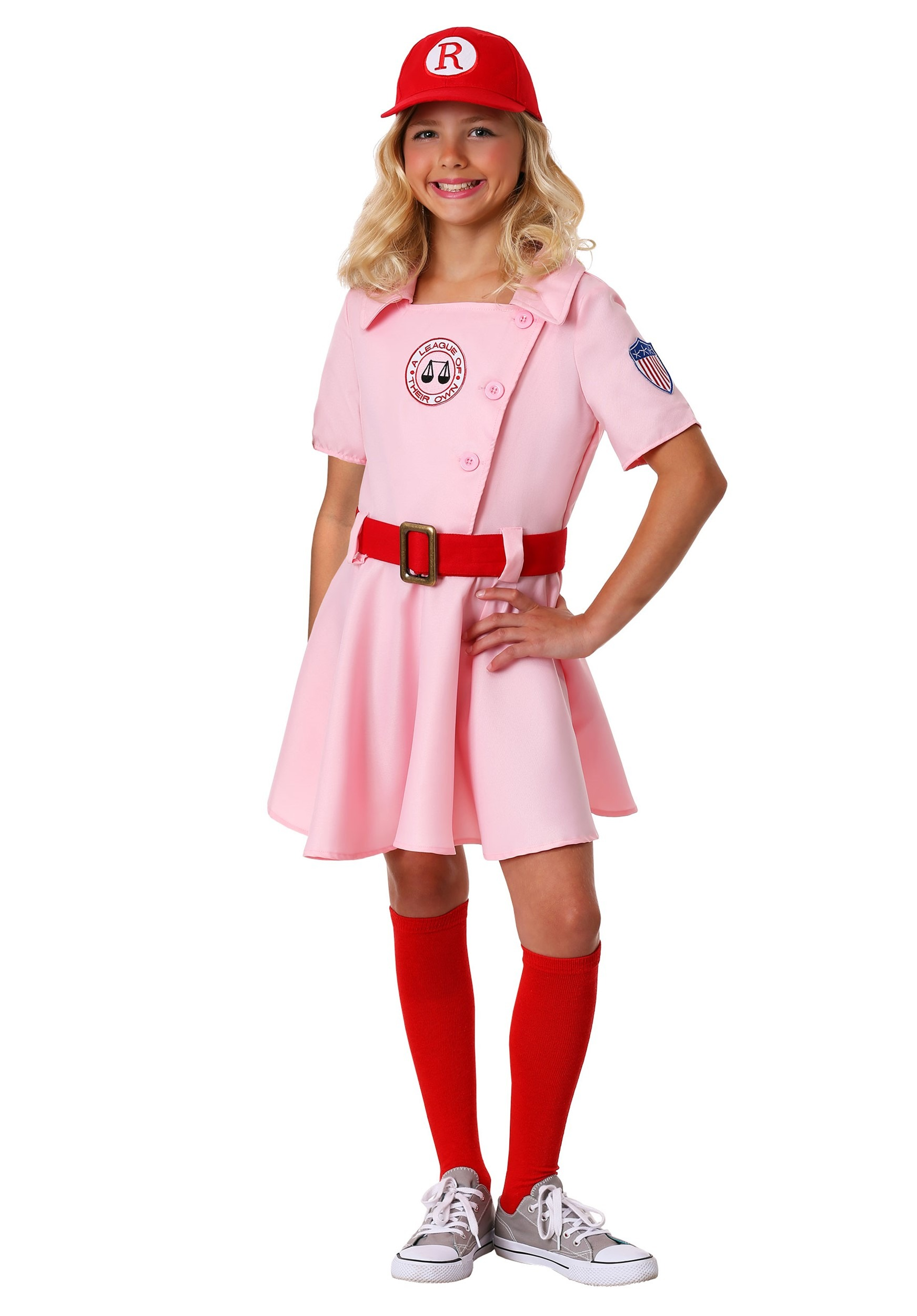 Girls Dottie Costume from A League of Their Own