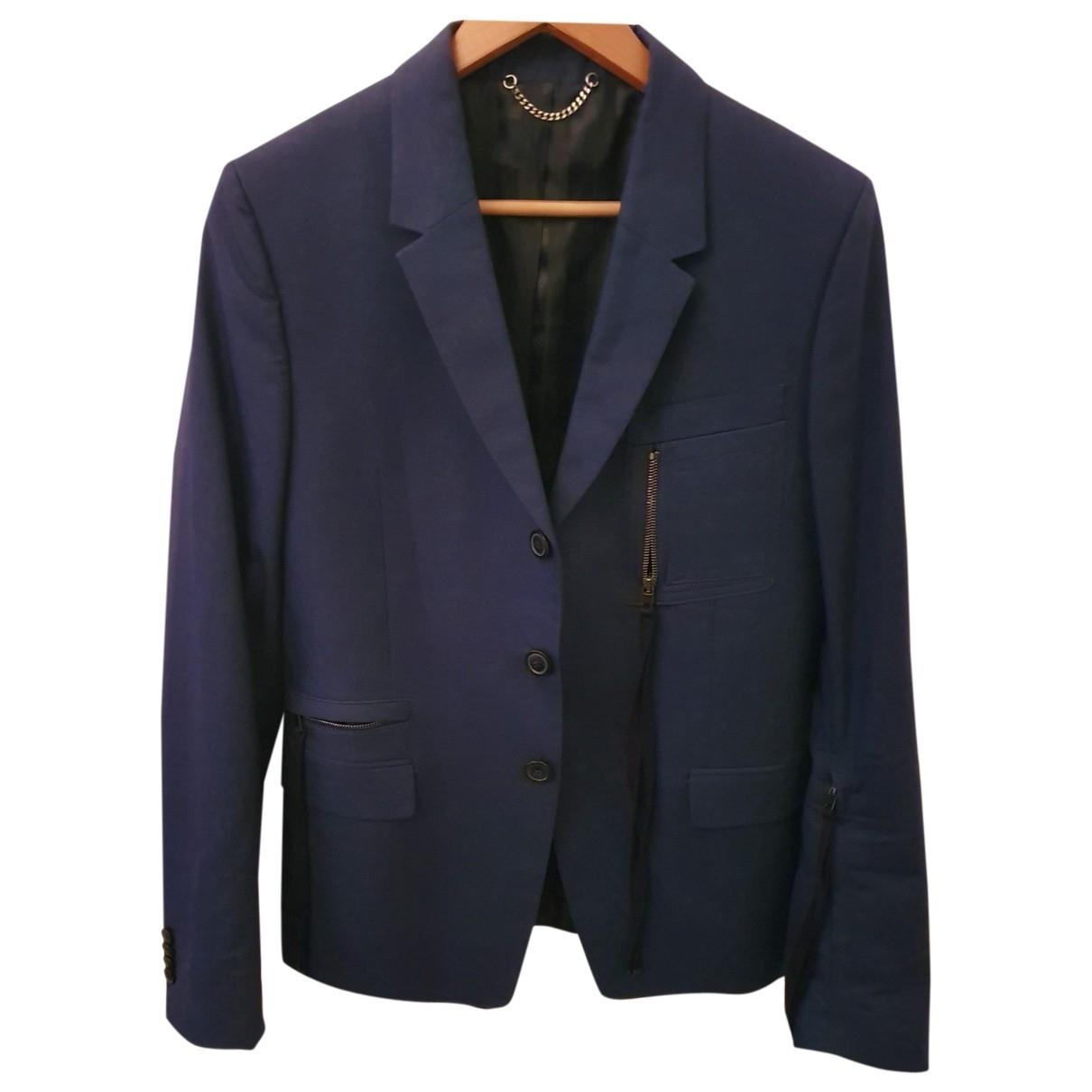 Diesel Black Gold \N Jacke in  Blau Baumwolle