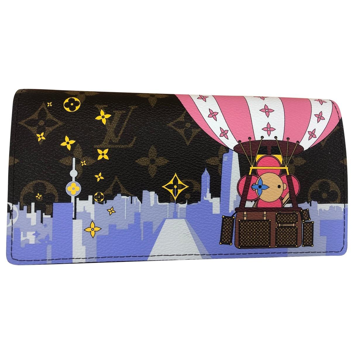 Louis Vuitton Sarah Multicolour Cloth wallet for Women \N
