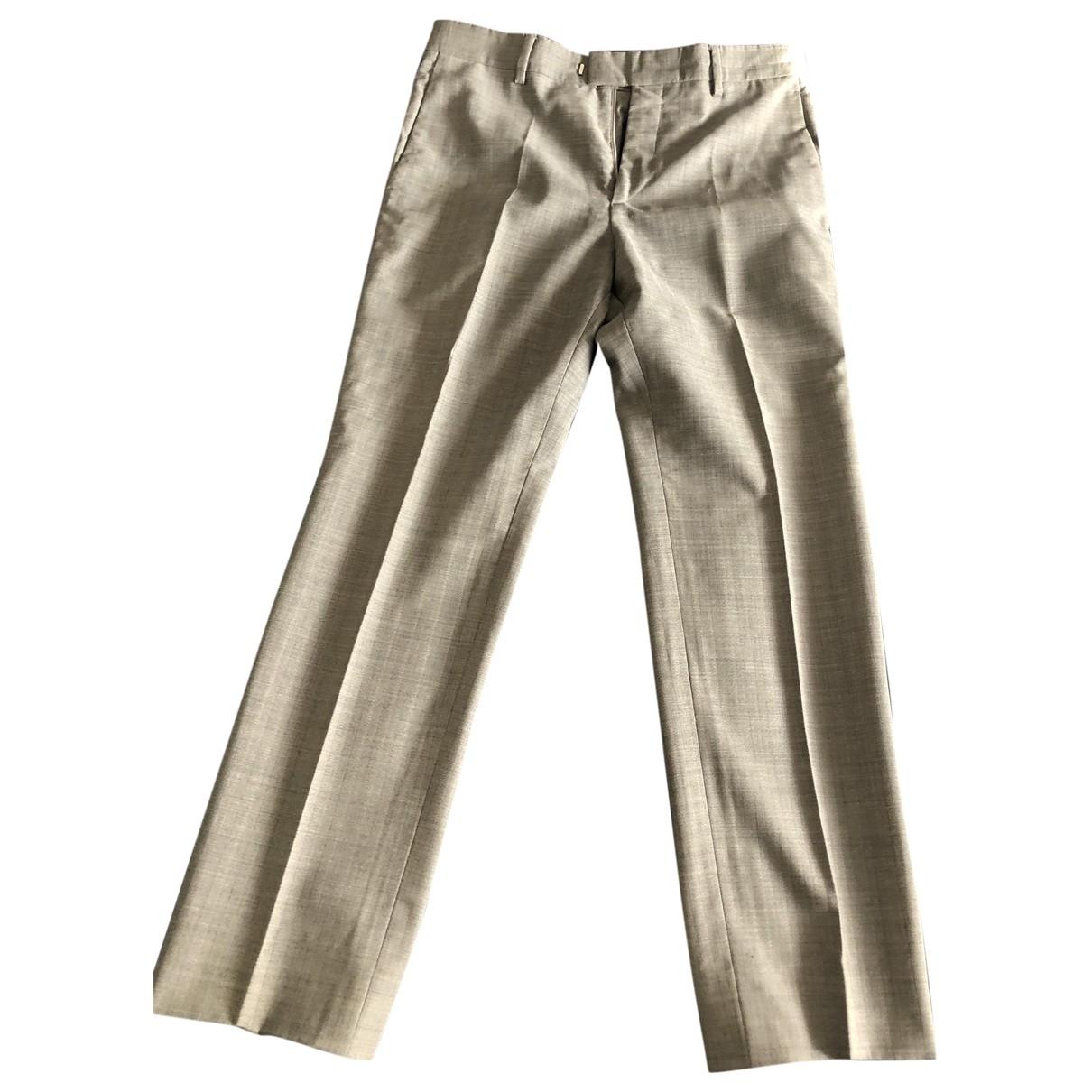 Marc Jacobs - Pantalon   pour homme en laine - gris