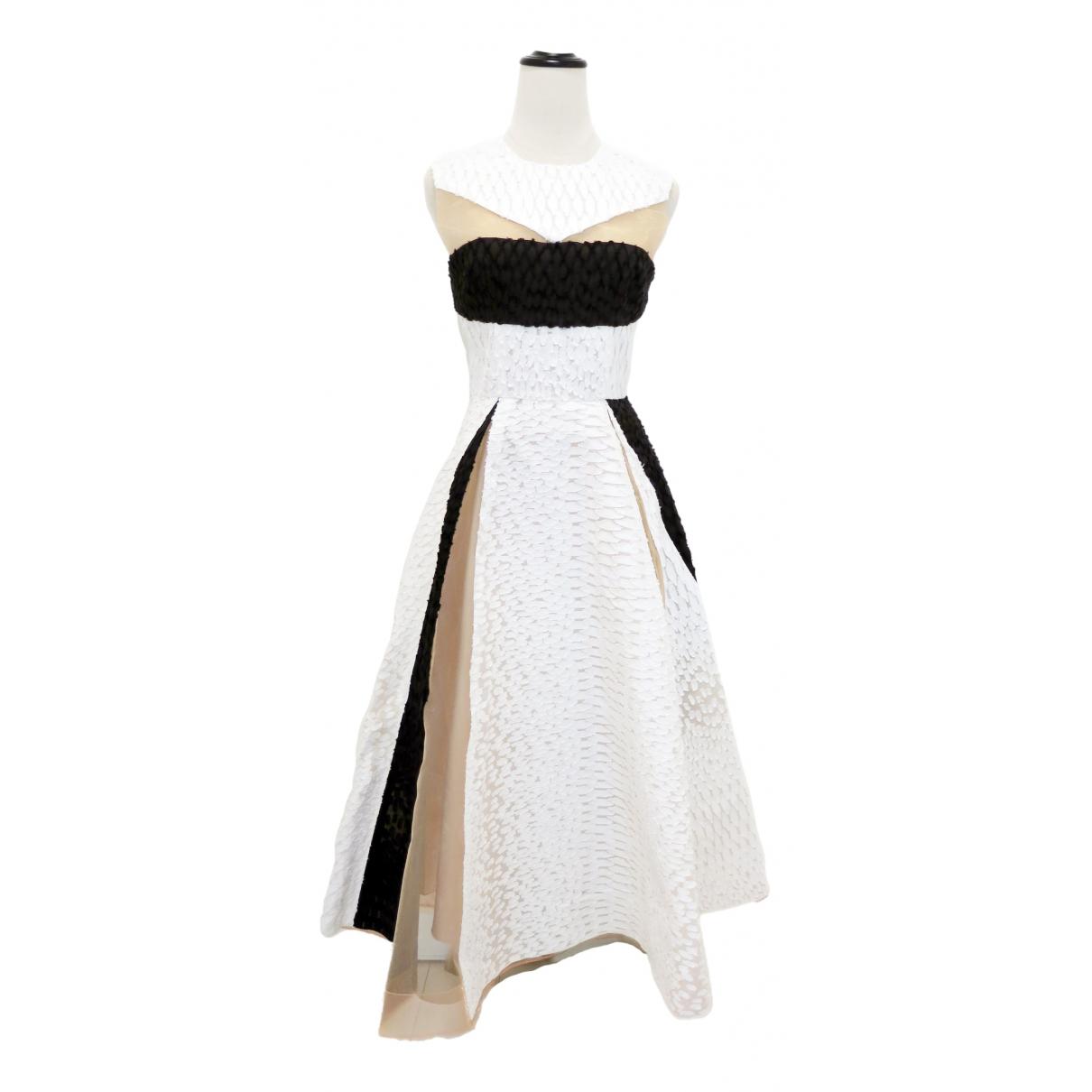 Alex Perry \N White Cotton dress for Women S International