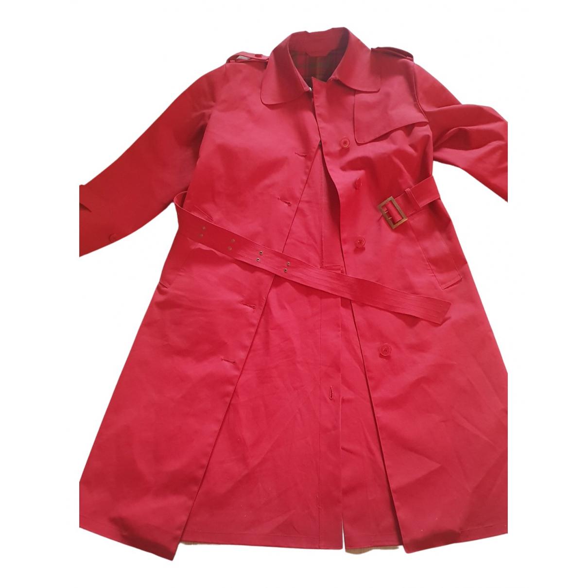 Mackintosh - Veste   pour femme en coton - rouge