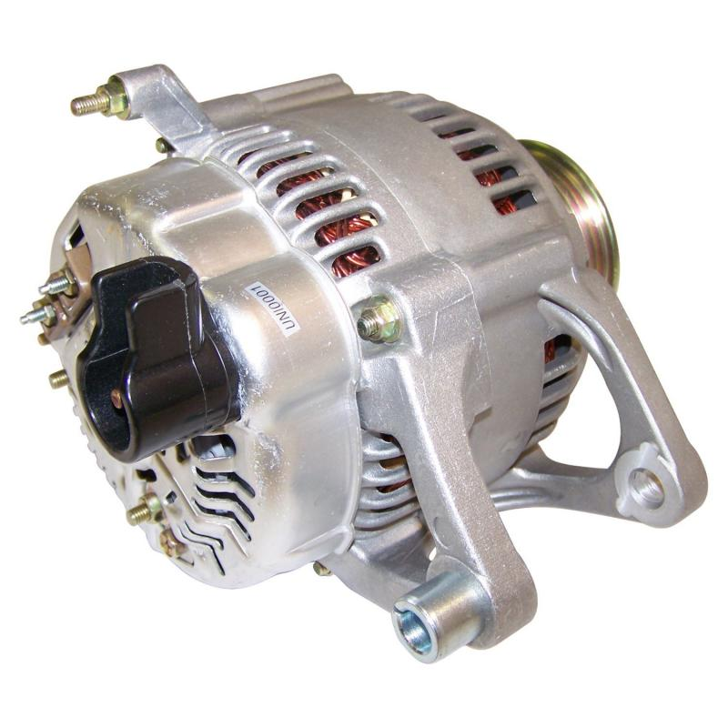 Crown Automotive 5234032 Jeep Replacement Alternator; 6 Groove, 90 Amp