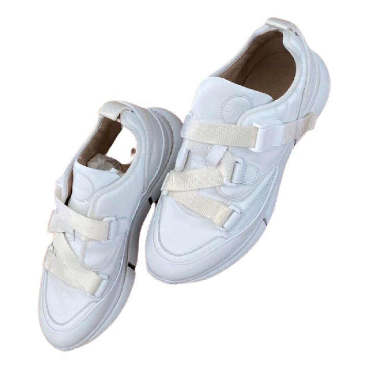 Chloe - Baskets   pour homme en cuir - blanc