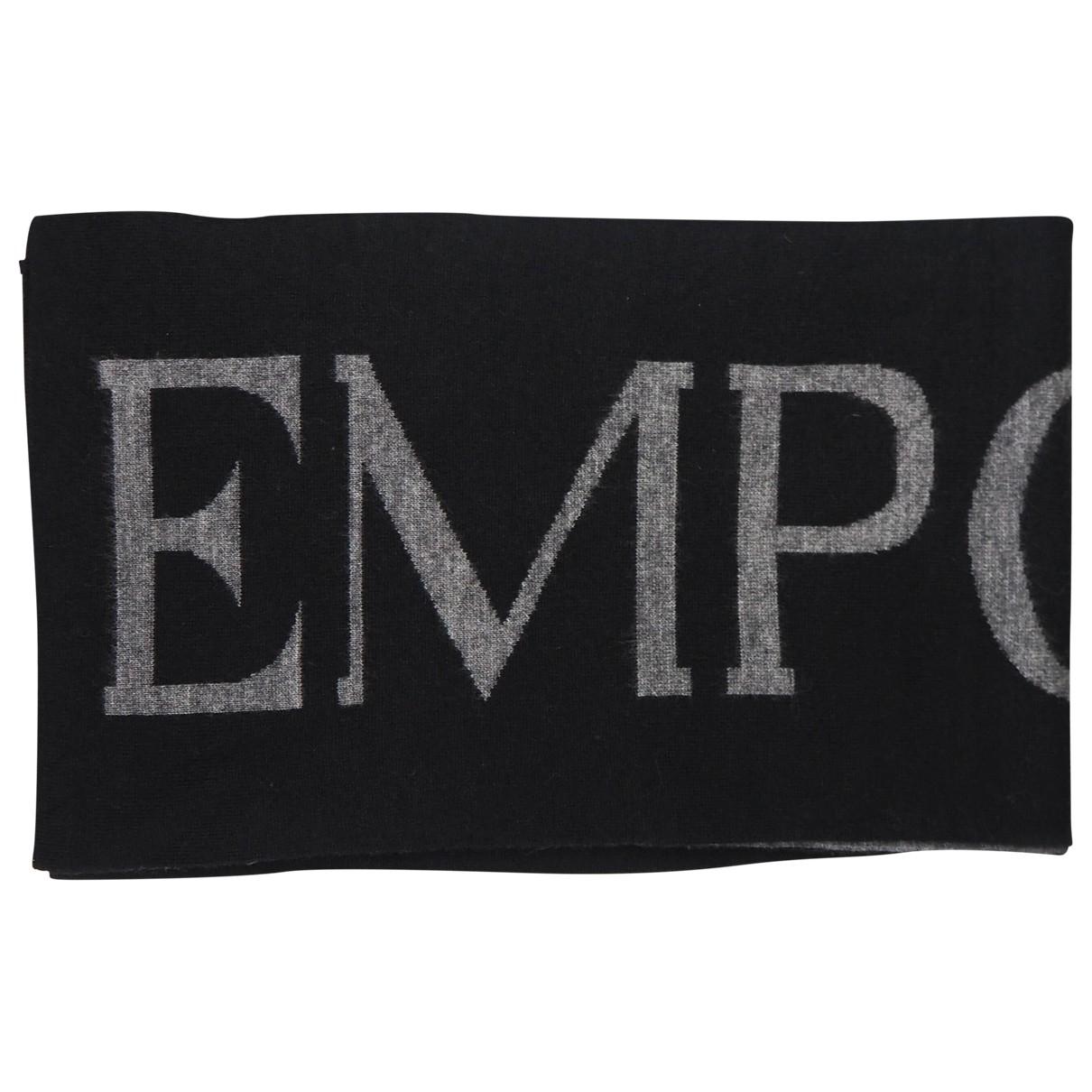 Emporio Armani - Cheches.Echarpes   pour homme en laine - anthracite