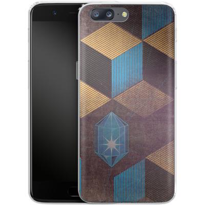 OnePlus 5 Silikon Handyhuelle - Cubes Gems von Brent Williams