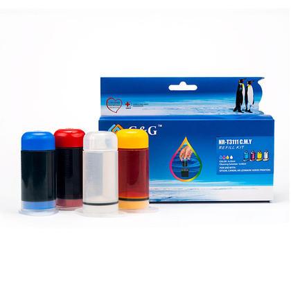Universal Refill Kit NR-T3111CMY Color Ink C/M/Y - G&G NR-T3111CMY