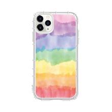 iPhone Huelle mit Regenbogenstreifen Muster