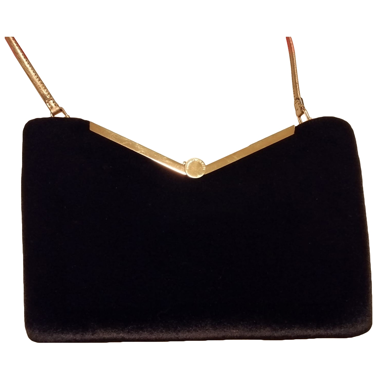 Giorgio Armani \N Black Suede handbag for Women \N