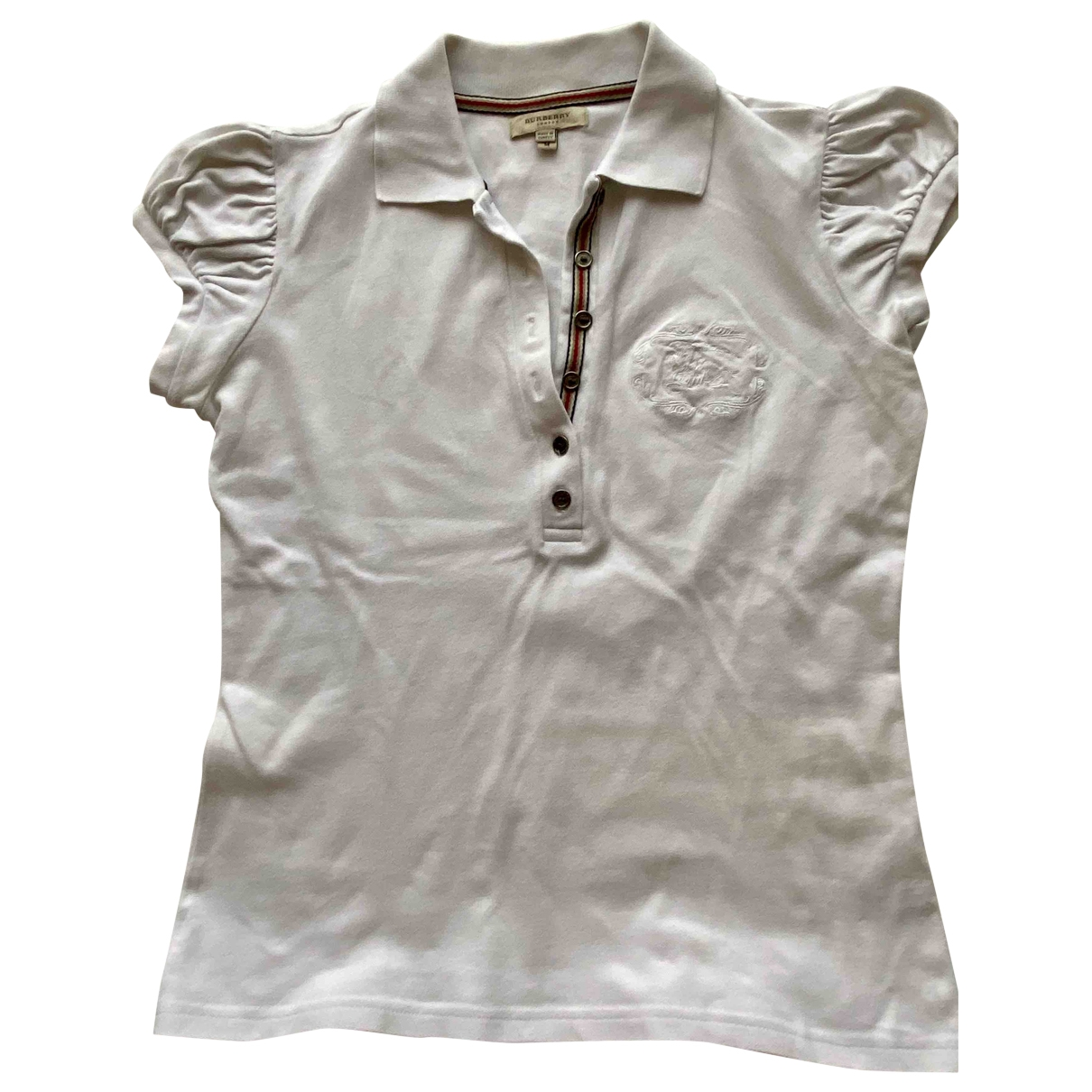 Burberry \N White Cotton  top for Women M International