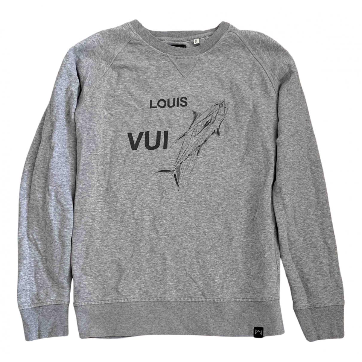 Eleven Paris \N Pullover.Westen.Sweatshirts  in  Grau Baumwolle