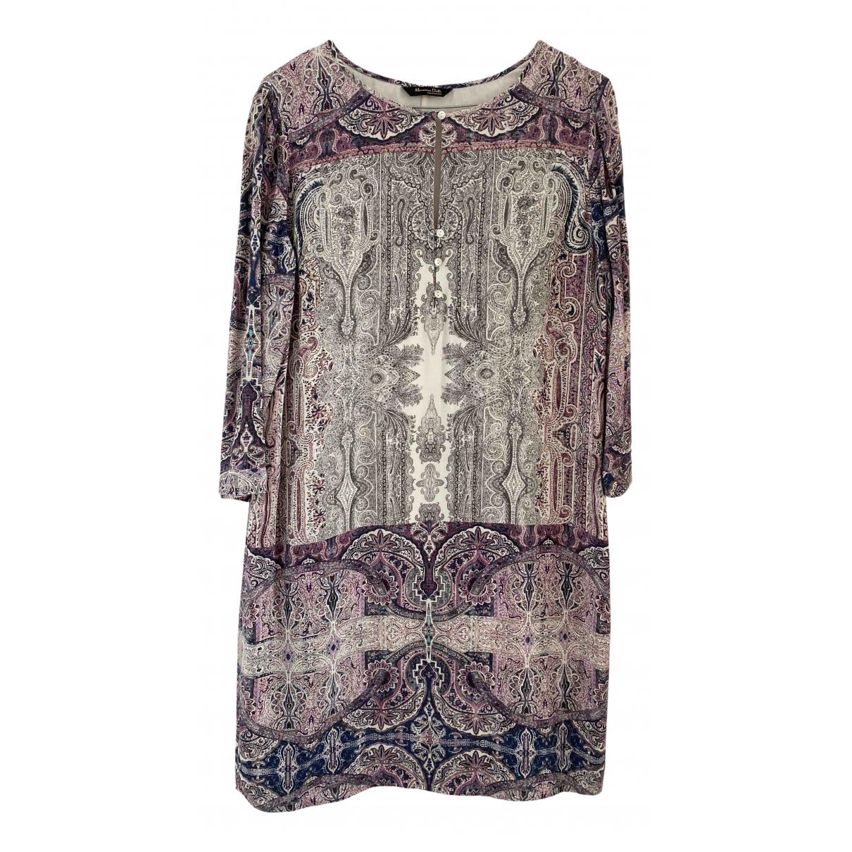 Massimo Dutti - Robe   pour femme - violet